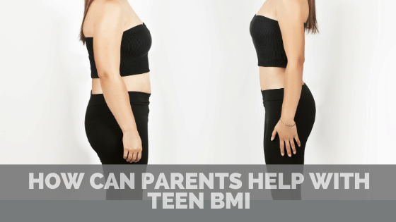 How can parents help with teen BMI